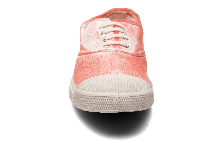 Baskets Bensimon Tennis Nuage Rouge vue portées chaussures