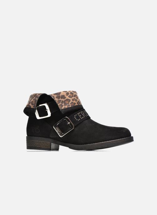 Ankle boots Le temps des cerises Janis Black back view