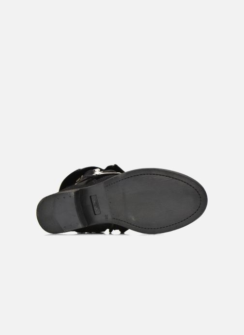 Ankle boots Le temps des cerises Janis Black view from above