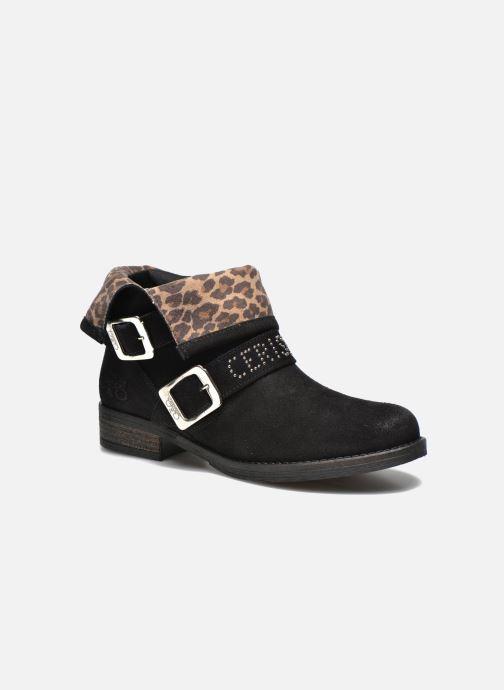Ankle boots Le temps des cerises Janis Black detailed view/ Pair view