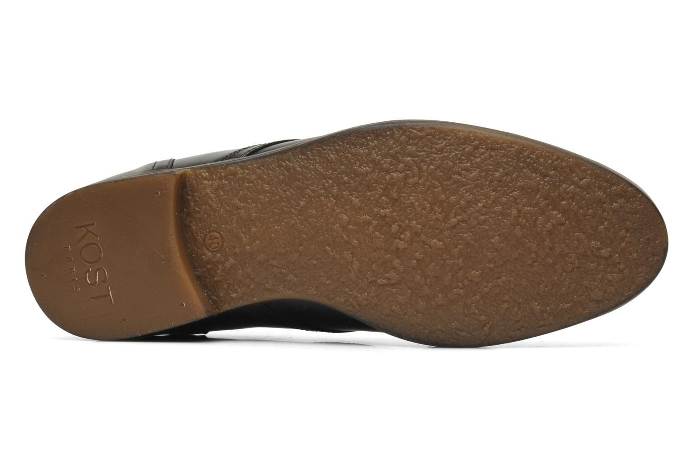 Bottines et boots Kost Merle 67 Noir vue haut