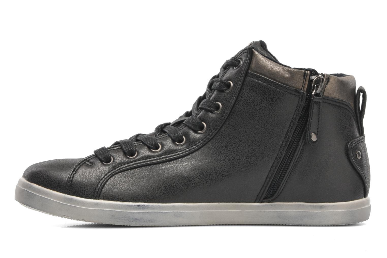 Sneaker Kaporal Lanista schwarz ansicht von vorne