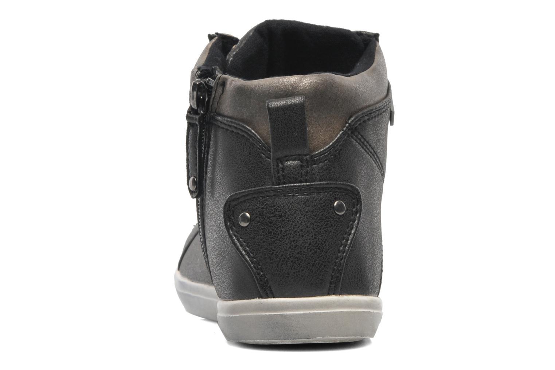 Sneaker Kaporal Lanista schwarz ansicht von rechts