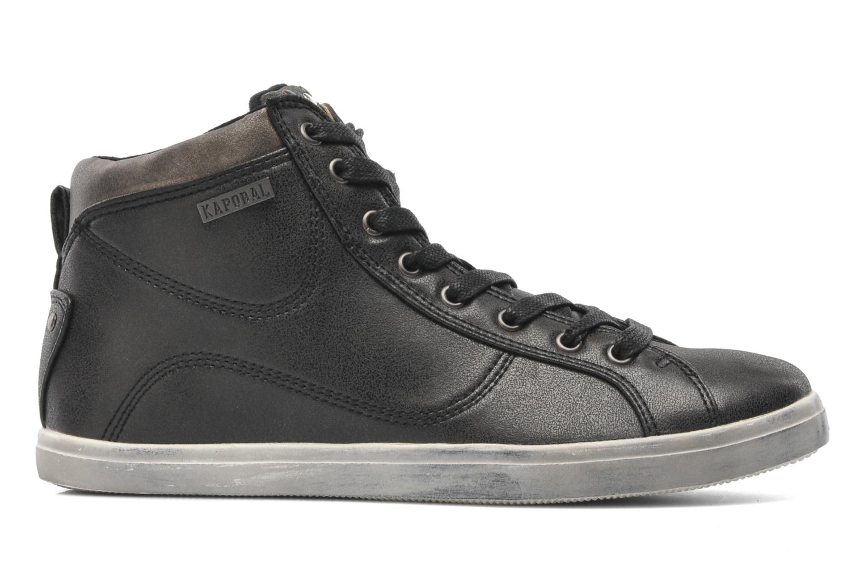 Sneaker Kaporal Lanista schwarz ansicht von hinten