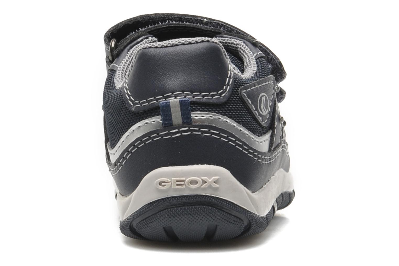 Baskets Geox B SHAAX A Bleu vue droite