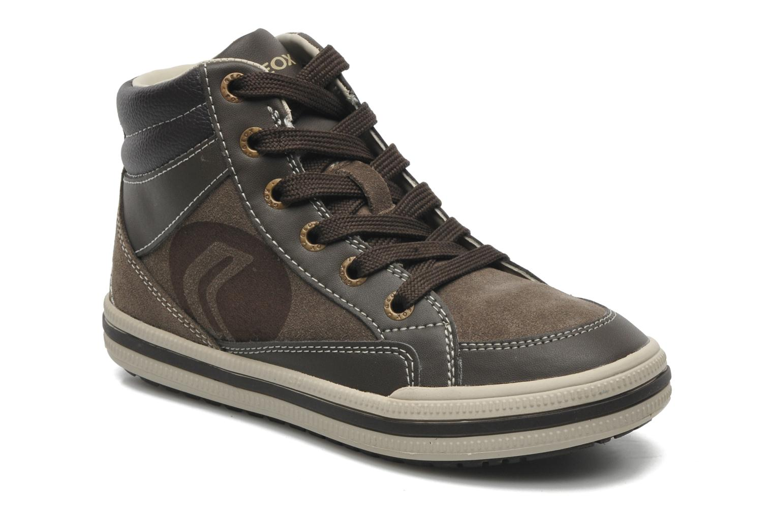 Baskets Geox JR ELVIS B Marron vue détail/paire