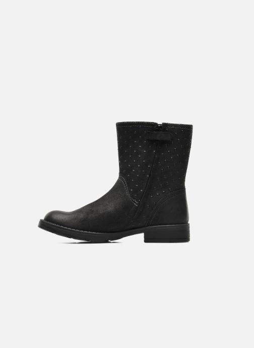 Ankle boots Geox JR SOFIA A Black front view