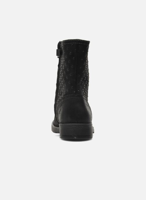 Ankle boots Geox JR SOFIA A Black view from the right