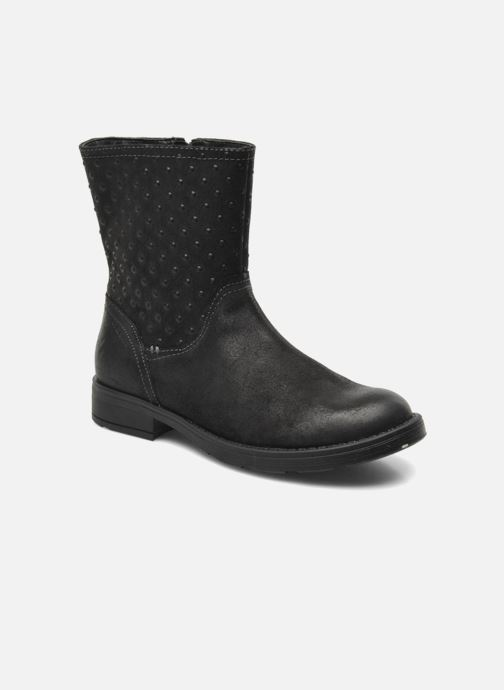 Ankle boots Geox JR SOFIA A Black detailed view/ Pair view