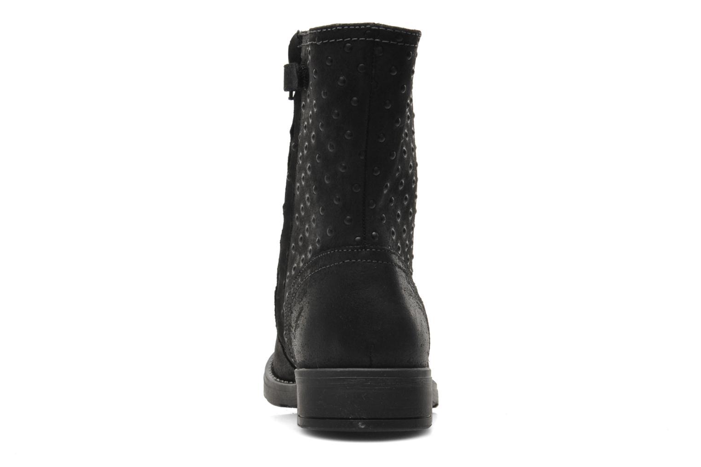 Bottines et boots Geox JR SOFIA A Noir vue droite