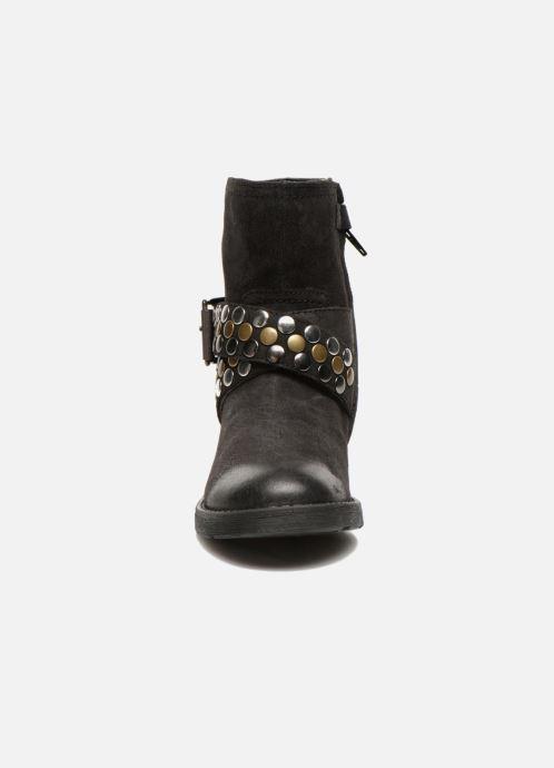 Bottines et boots Geox JR SOFIA B Noir vue portées chaussures