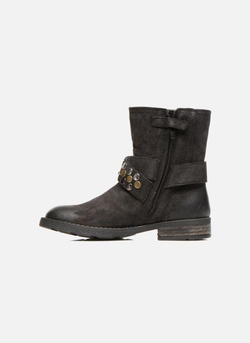 Bottines et boots Geox JR SOFIA B Noir vue face