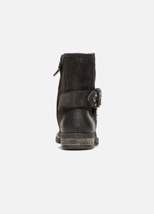 Bottines et boots Geox JR SOFIA B Noir vue droite