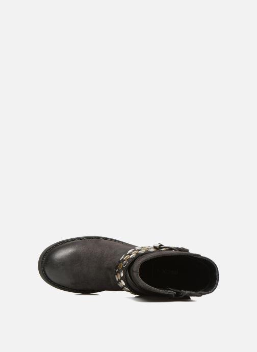 Bottines et boots Geox JR SOFIA B Noir vue gauche