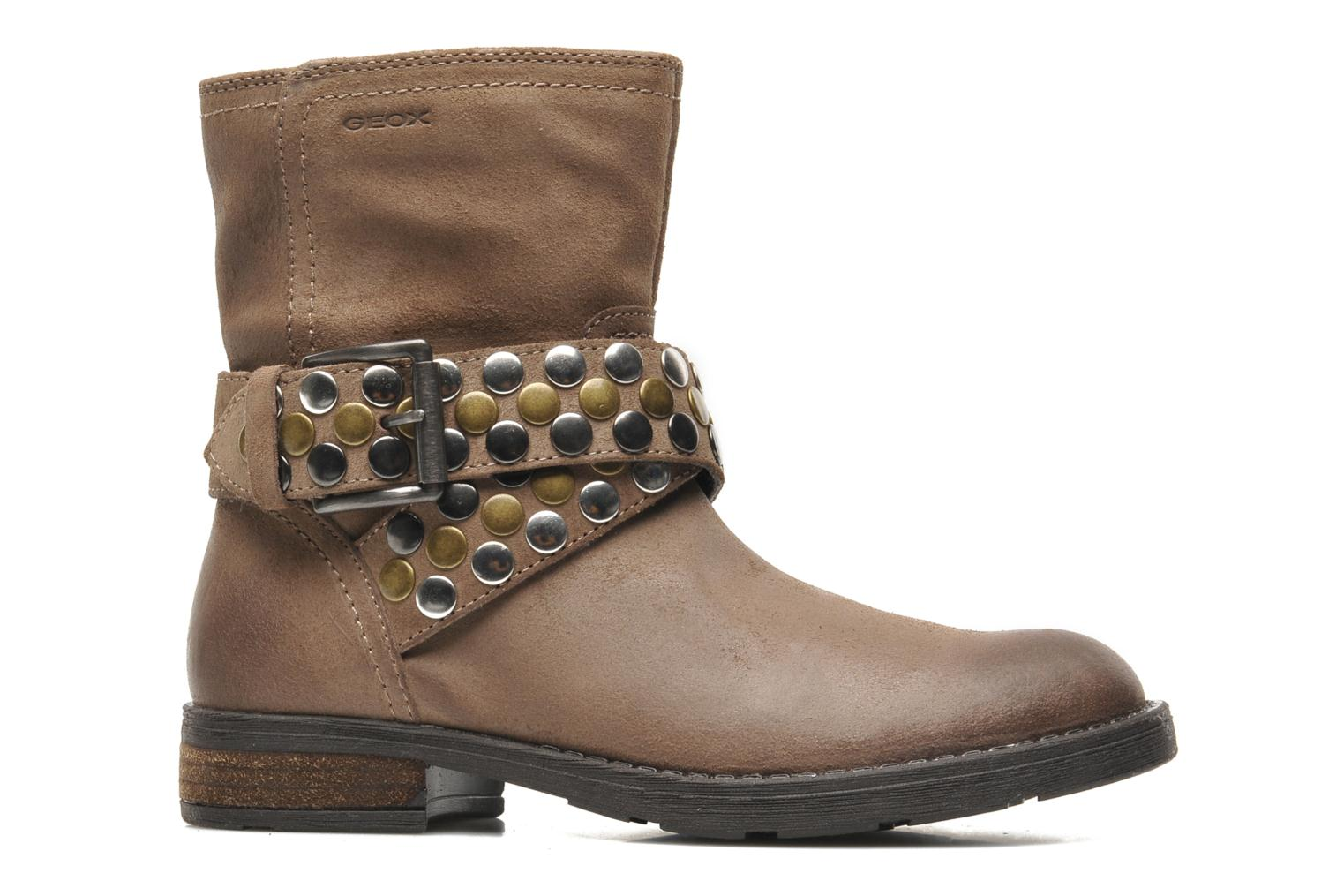 Ankle boots Geox JR SOFIA B Brown back view
