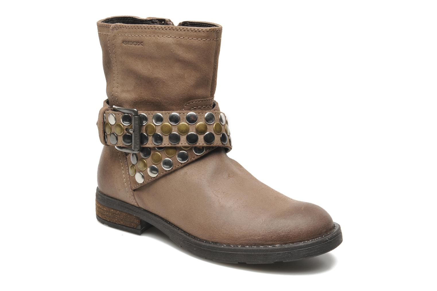 Ankle boots Geox JR SOFIA B Brown detailed view/ Pair view