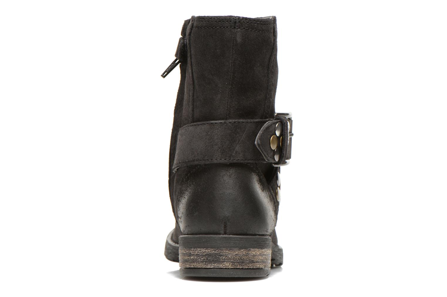 Ankle boots Geox JR SOFIA B Black view from the right