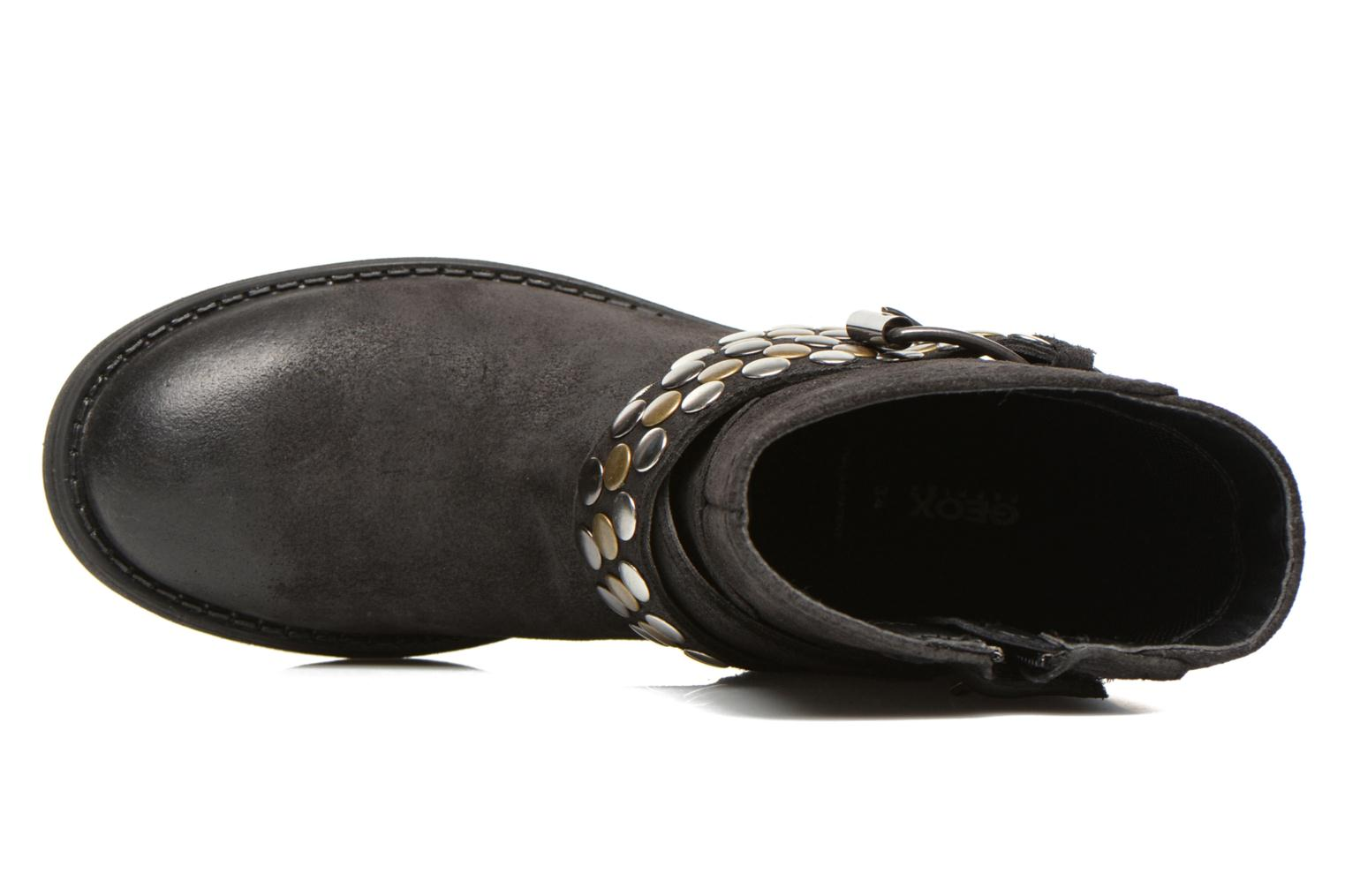 Ankle boots Geox JR SOFIA B Black view from the left