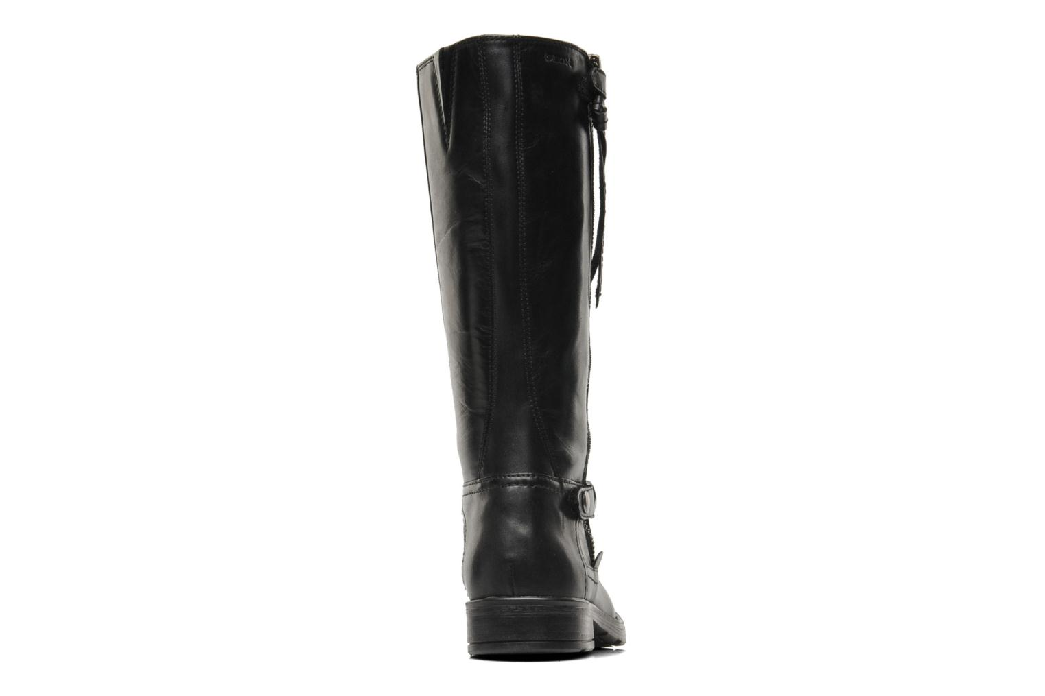 Boots & wellies Geox JR SOFIA D Black view from the right