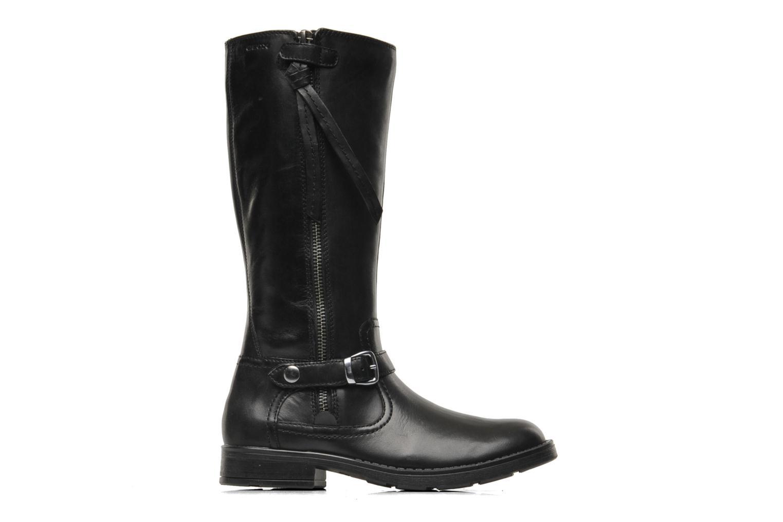 Boots & wellies Geox JR SOFIA D Black back view