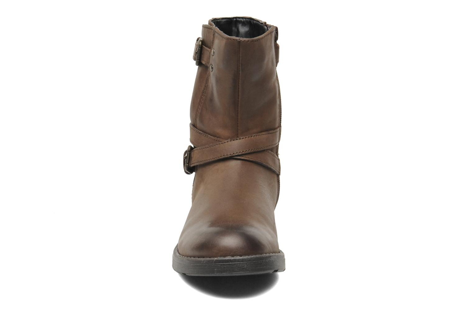 Ankle boots Geox JR SOFIA I Brown model view