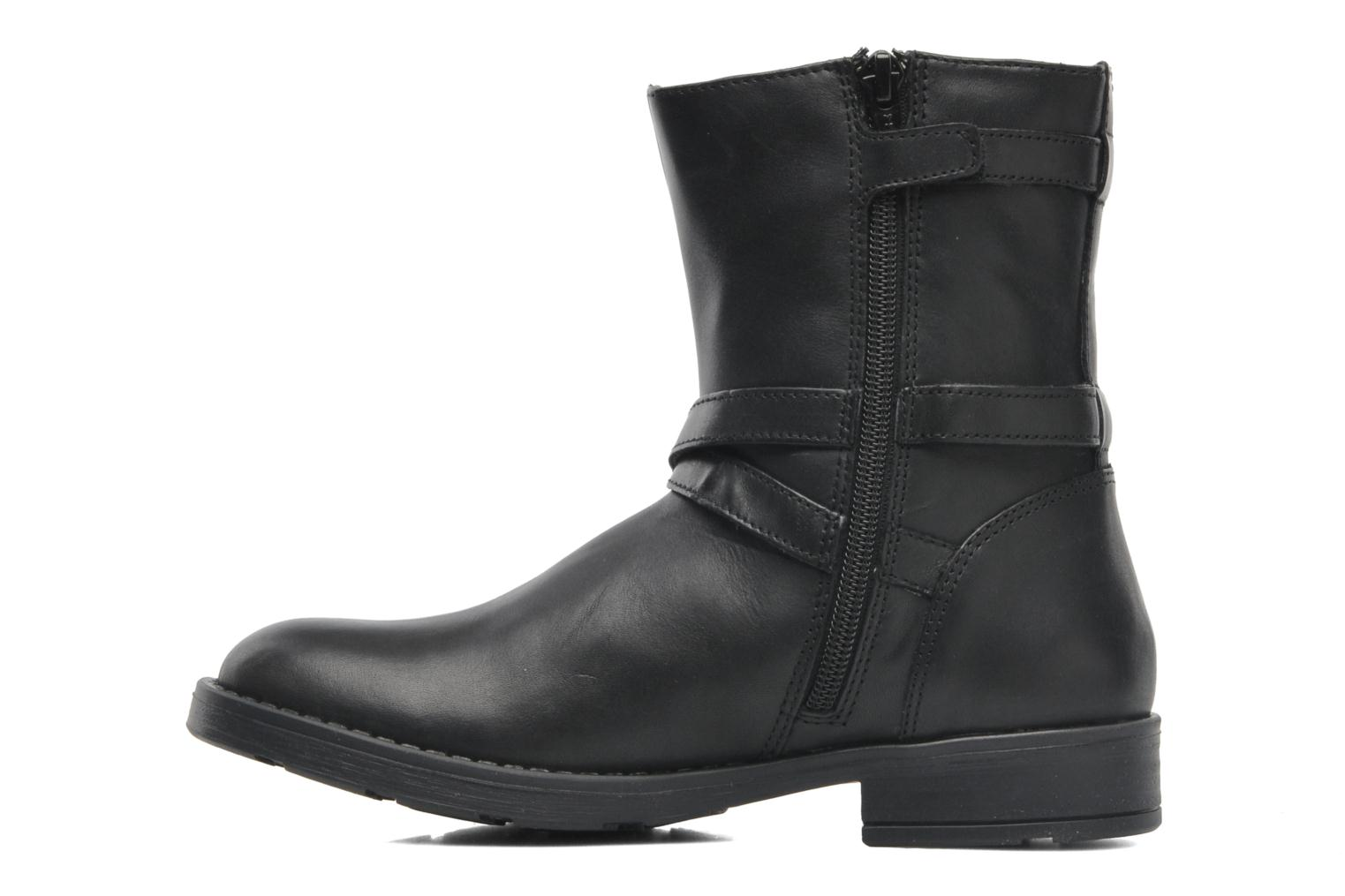 Ankle boots Geox JR SOFIA I Black front view