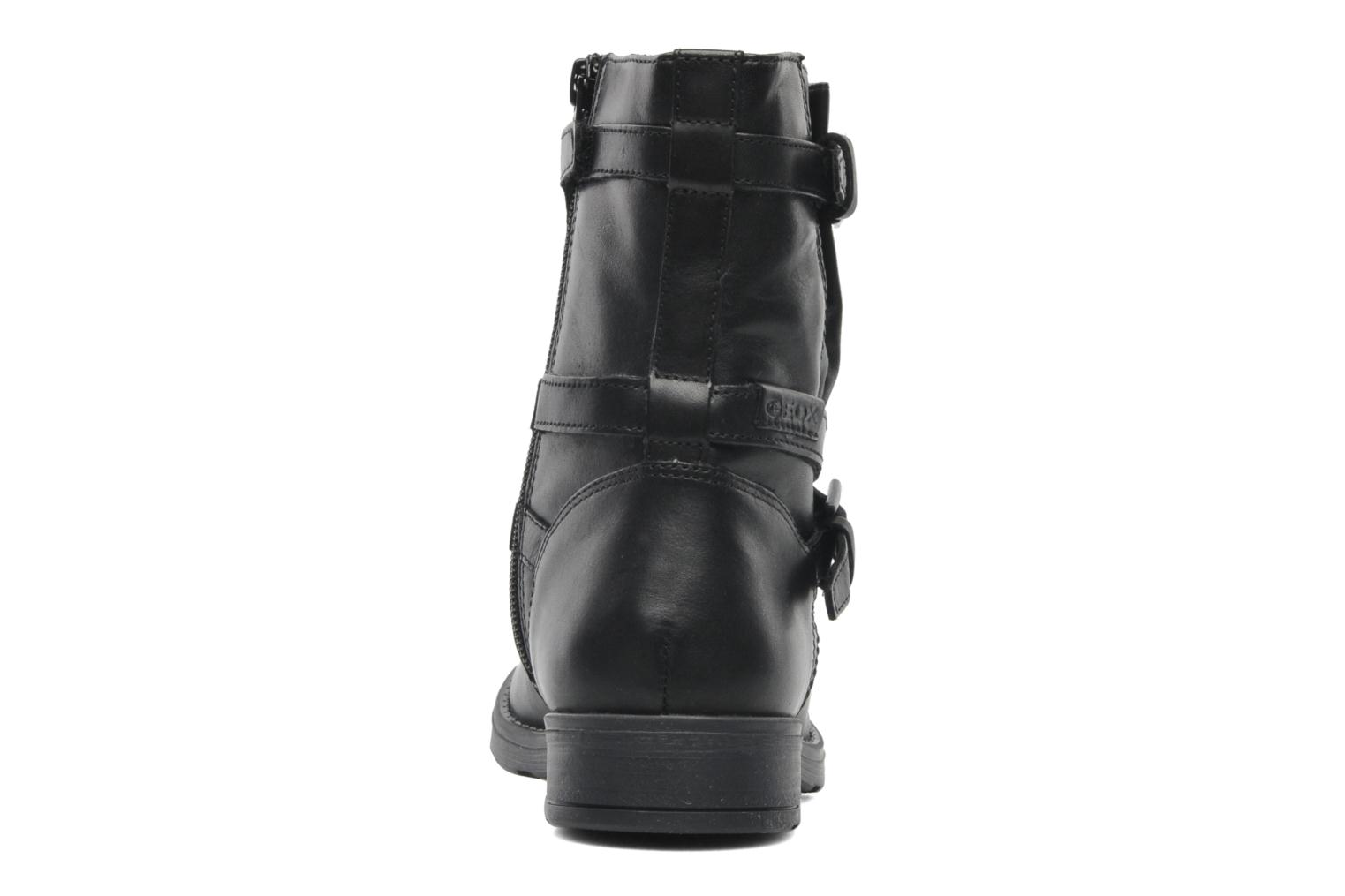 Ankle boots Geox JR SOFIA I Black view from the right