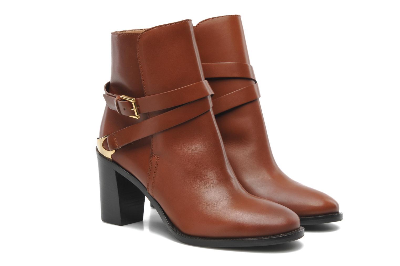 Bottines et boots Fratelli Rossetti Magenta Half boot Hill Marron vue 3/4