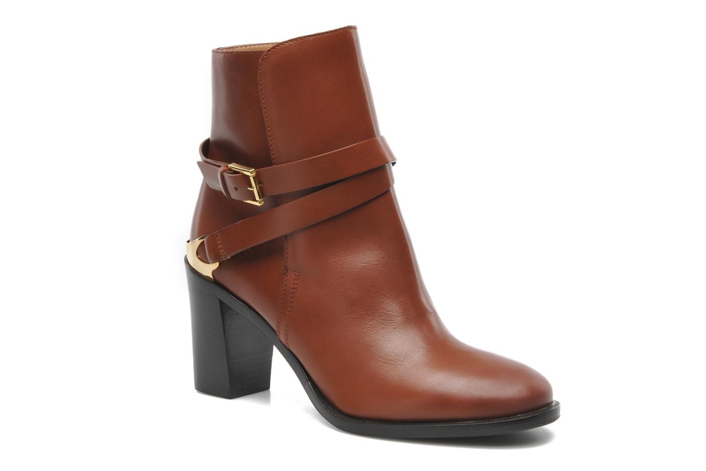 Bottines et boots Fratelli Rossetti Magenta Half boot Hill Marron vue détail/paire