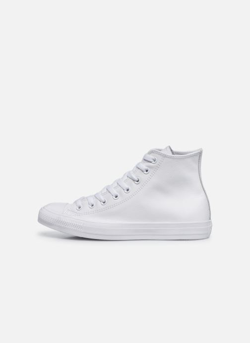 Baskets Converse Chuck Taylor All Star Mono Leather Hi W Blanc vue face