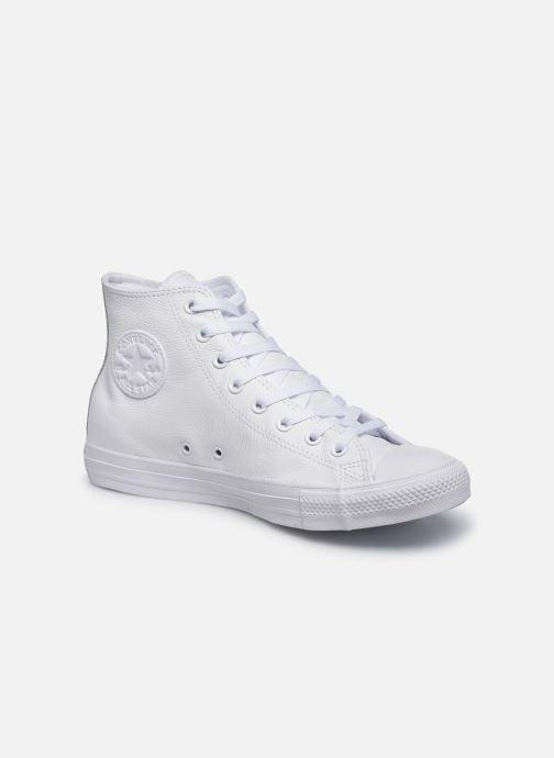 Sneaker Converse Chuck Taylor All Star Mono Leather Hi W weiß detaillierte ansicht/modell