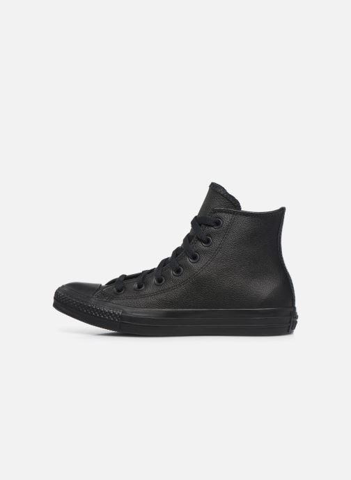 Baskets Converse Chuck Taylor All Star Mono Leather Hi W Noir vue face
