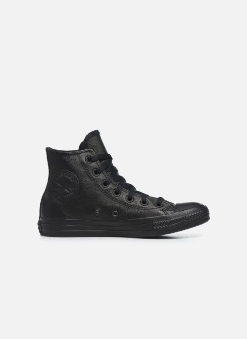 Sneakers Converse Chuck Taylor All Star Mono Leather Hi W Zwart achterkant