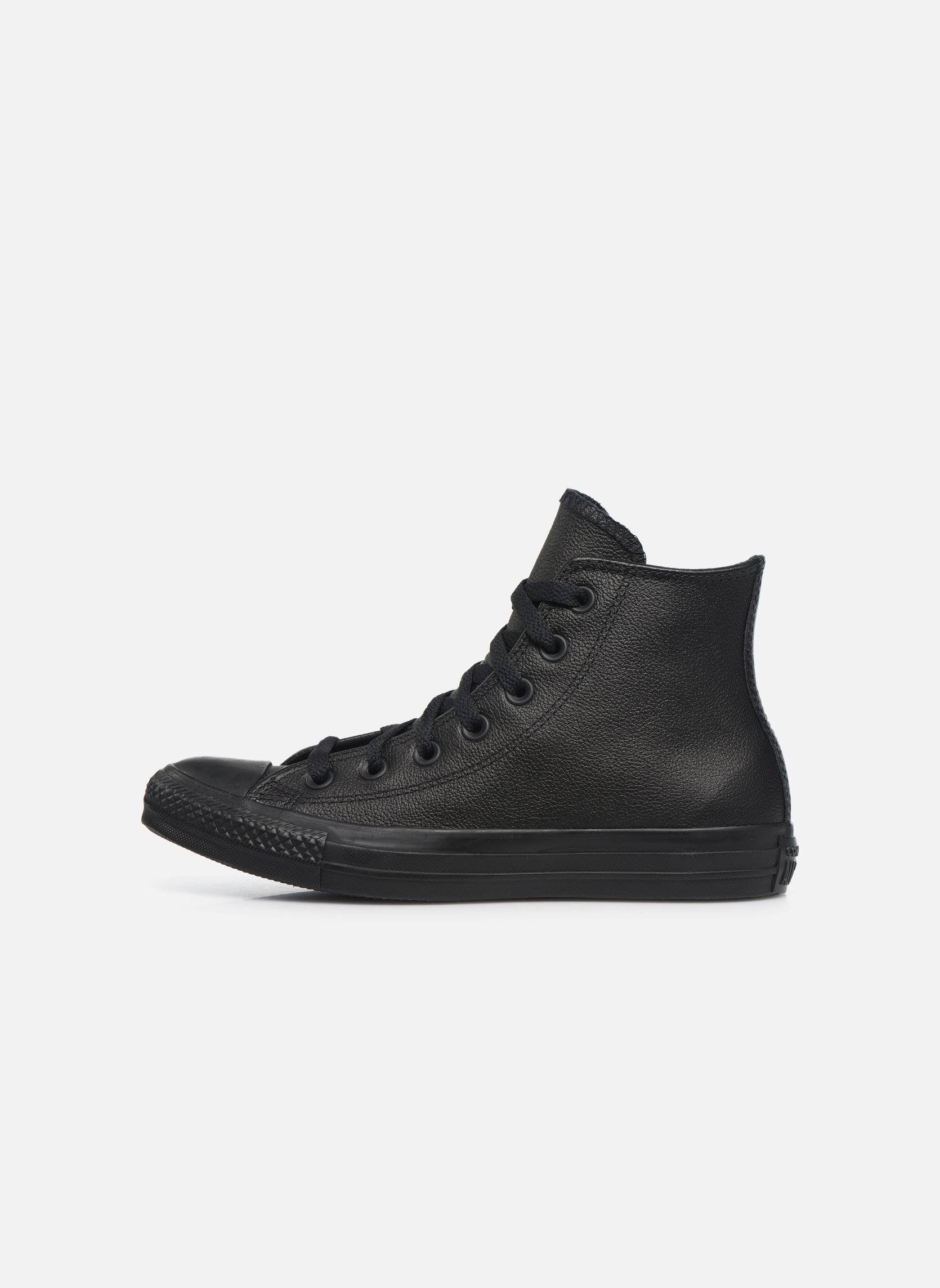 Trainers Converse Chuck Taylor All Star Mono Leather Hi W Black front view
