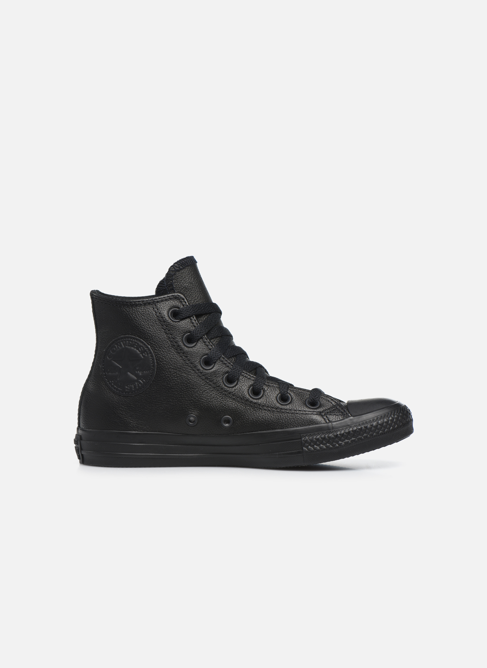 Trainers Converse Chuck Taylor All Star Mono Leather Hi W Black back view