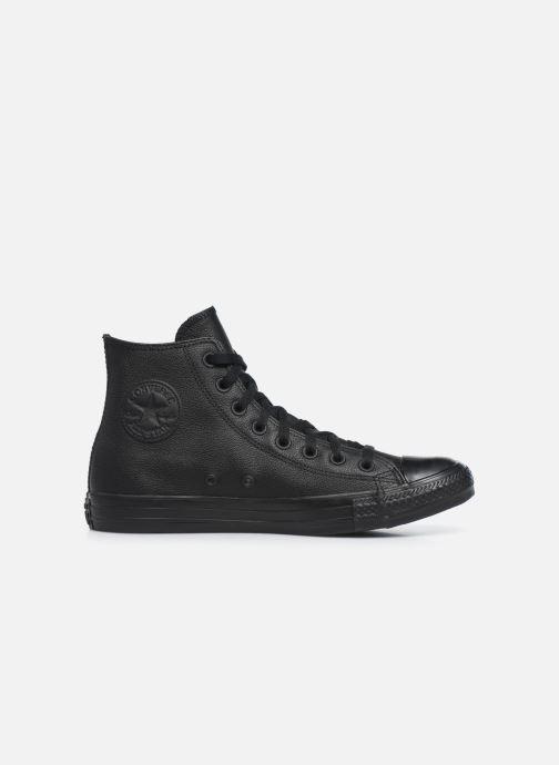 Sneaker Converse Chuck Taylor All Star Mono Leather Hi M schwarz ansicht von hinten