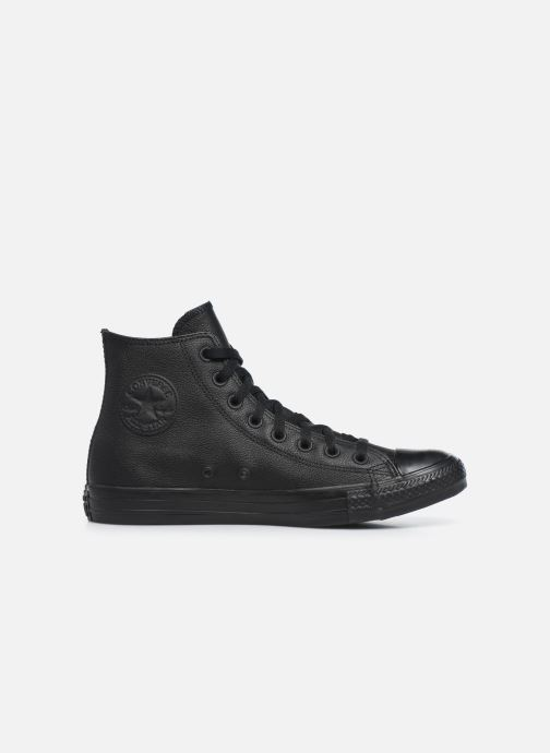 Sneakers Converse Chuck Taylor All Star Mono Leather Hi M Zwart achterkant