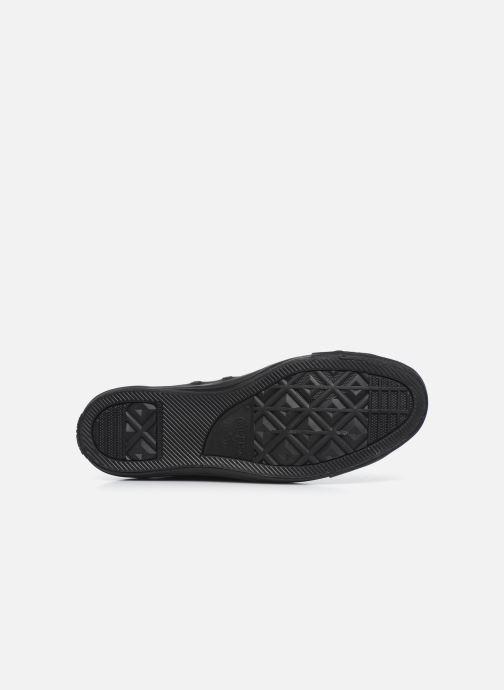 Sneaker Converse Chuck Taylor All Star Mono Leather Hi M schwarz ansicht von oben