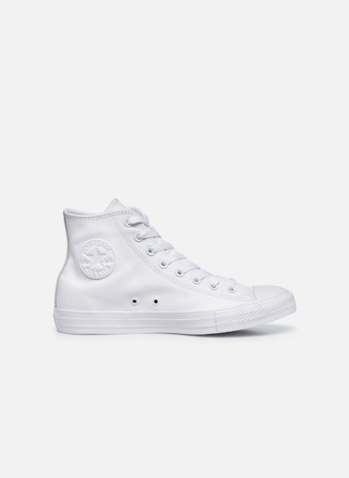 Sneakers Converse Chuck Taylor All Star Mono Leather Hi M Hvid se bagfra