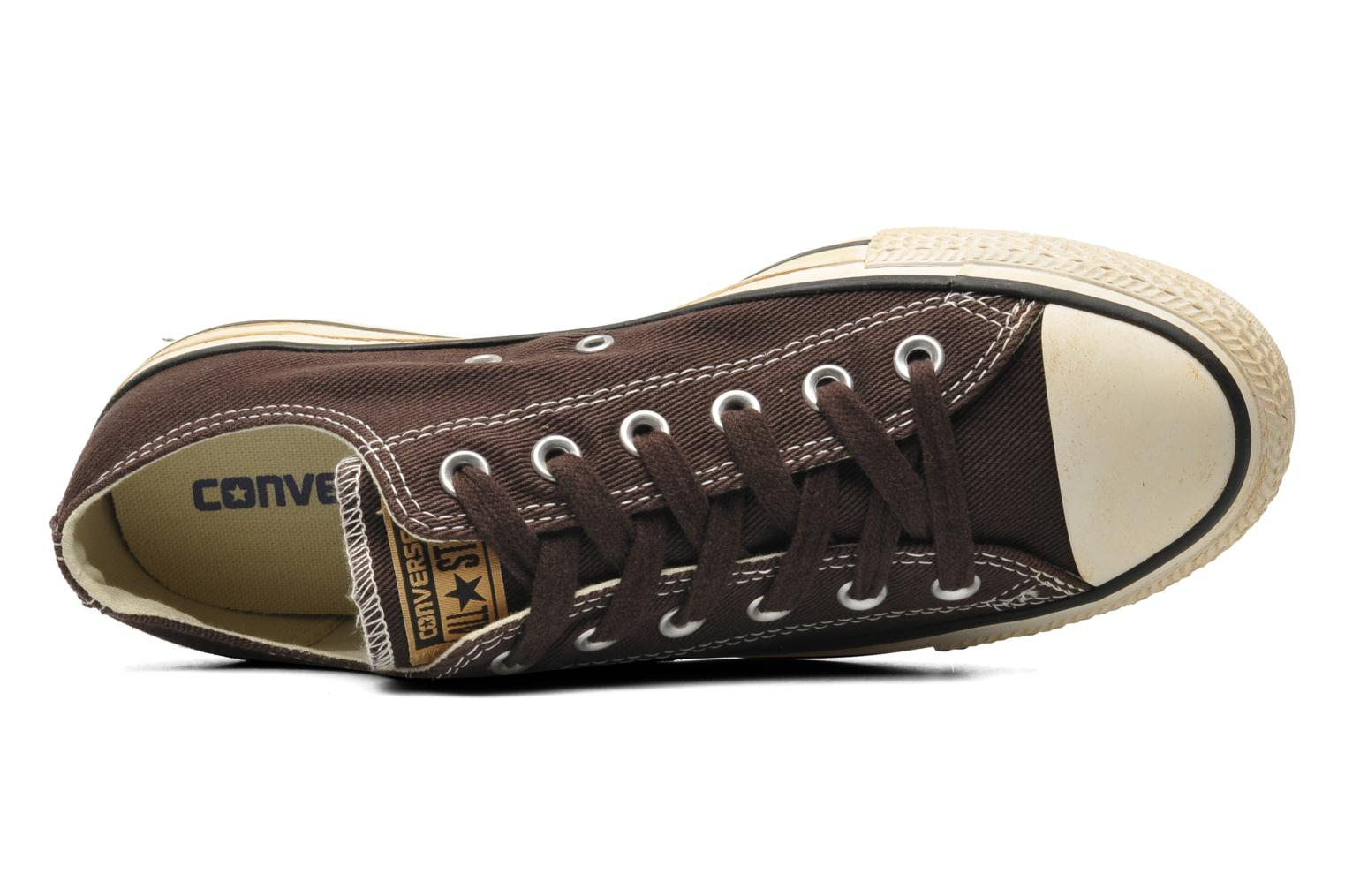 Sneakers Converse Chuck Taylor Vintage Washed Twill Ox M Bruin links