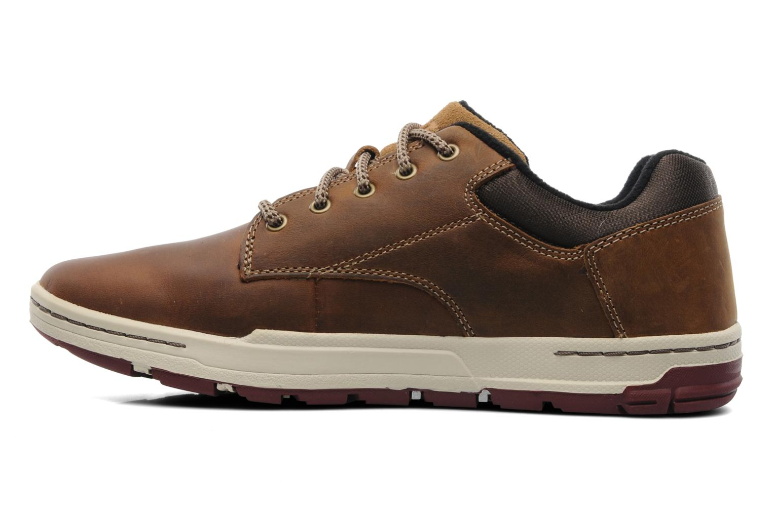 Trainers Caterpillar Colfax Brown front view