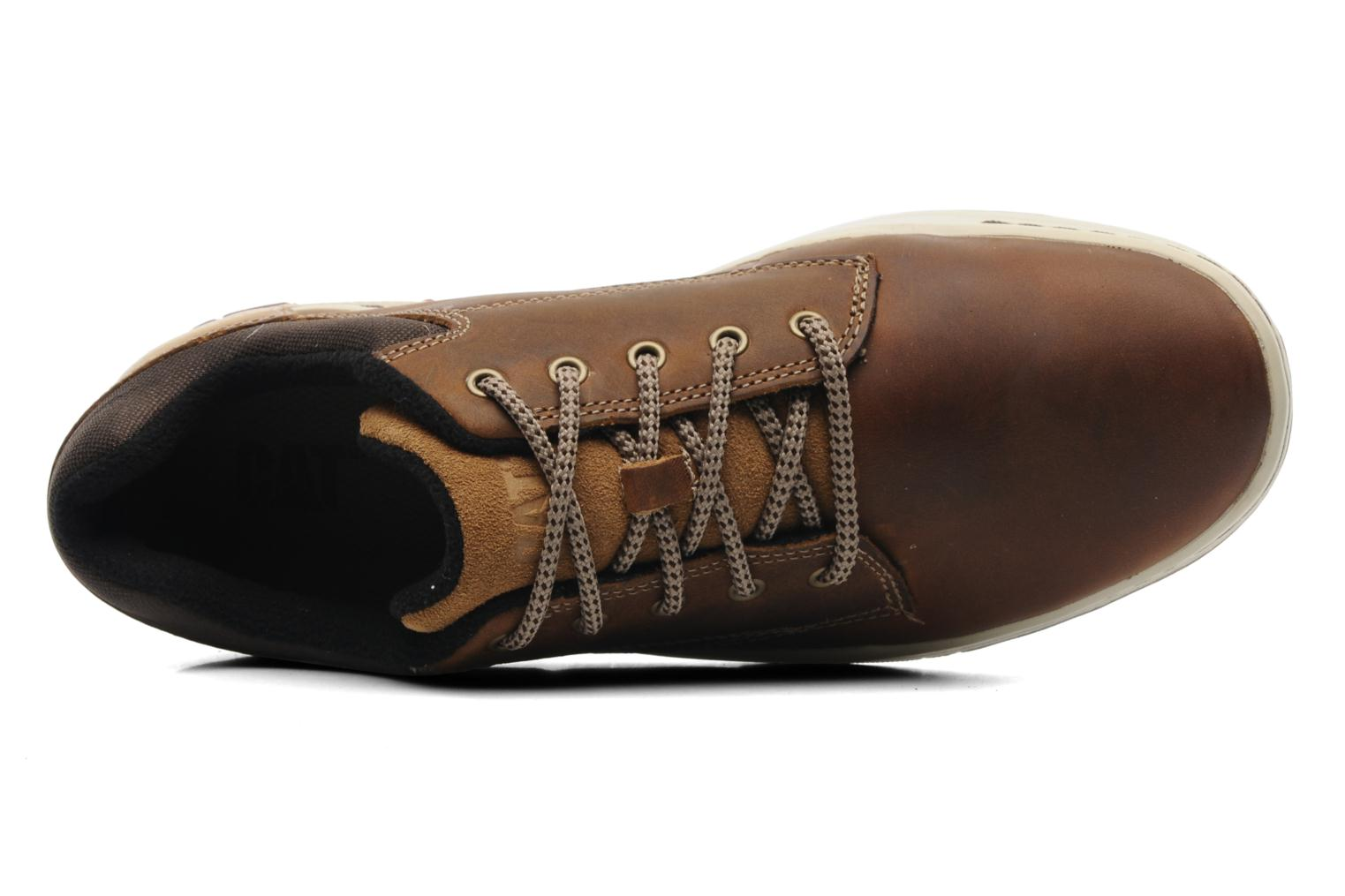 Trainers Caterpillar Colfax Brown view from the left