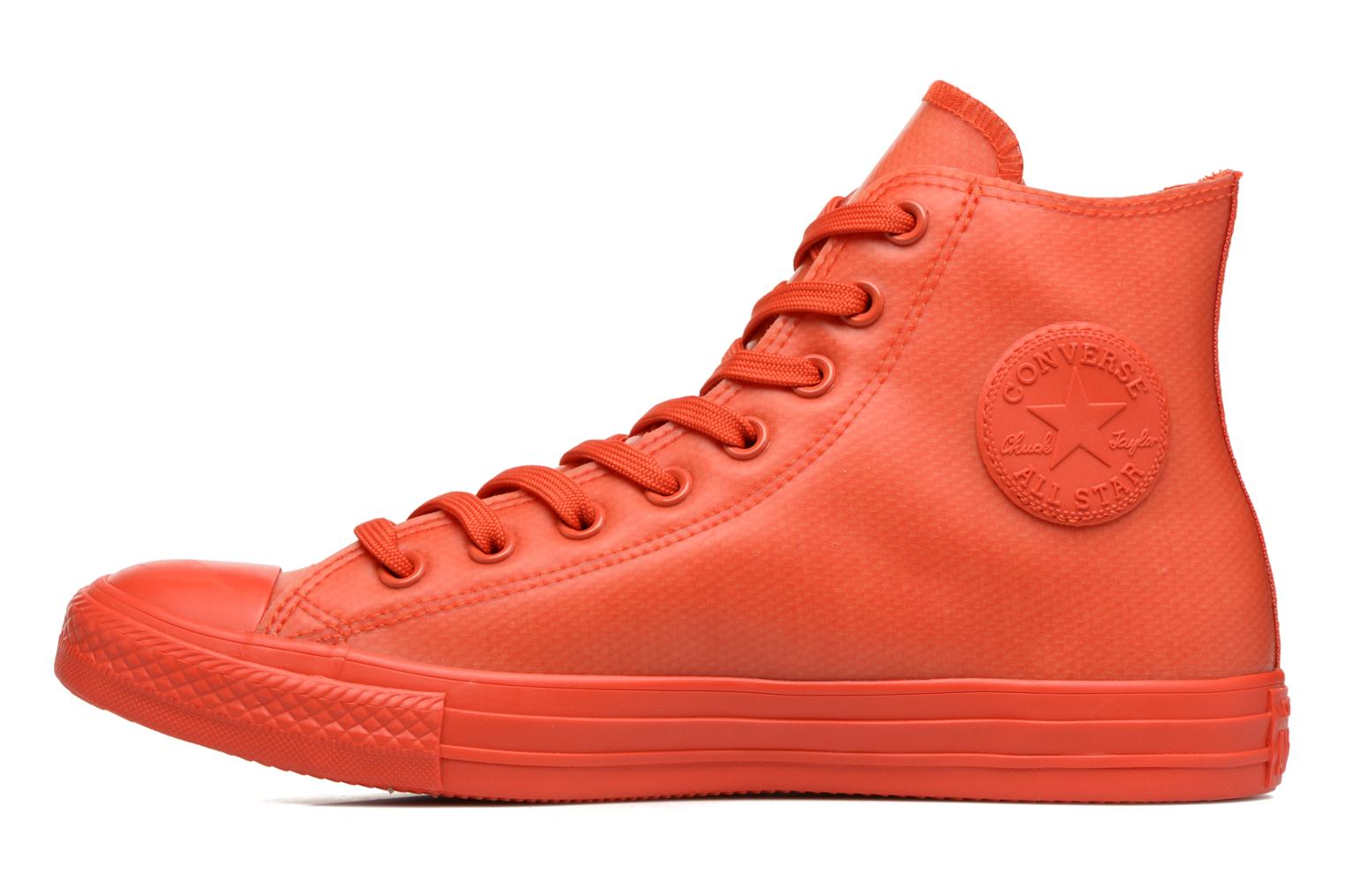 Baskets Converse Chuck Taylor All Star Rubber Hi M Rouge vue face