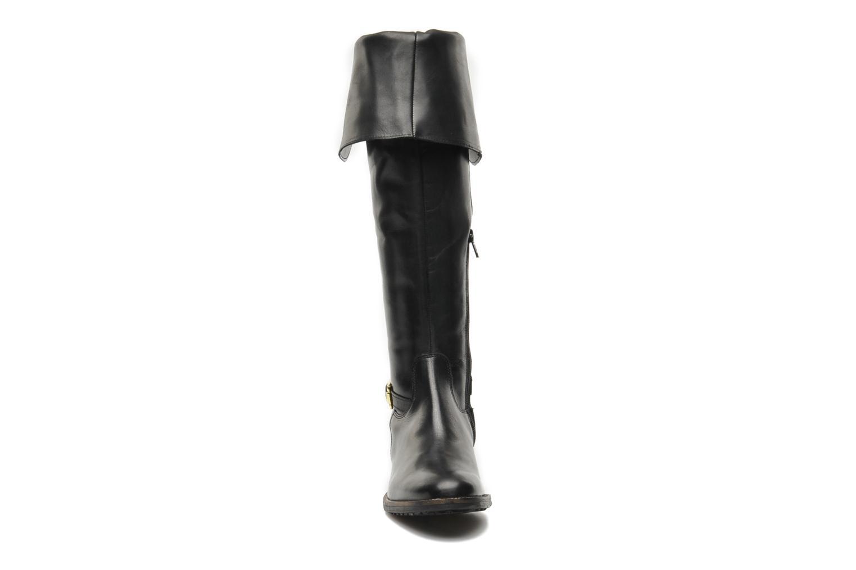 Bottes Eden LOU Noir vue portées chaussures