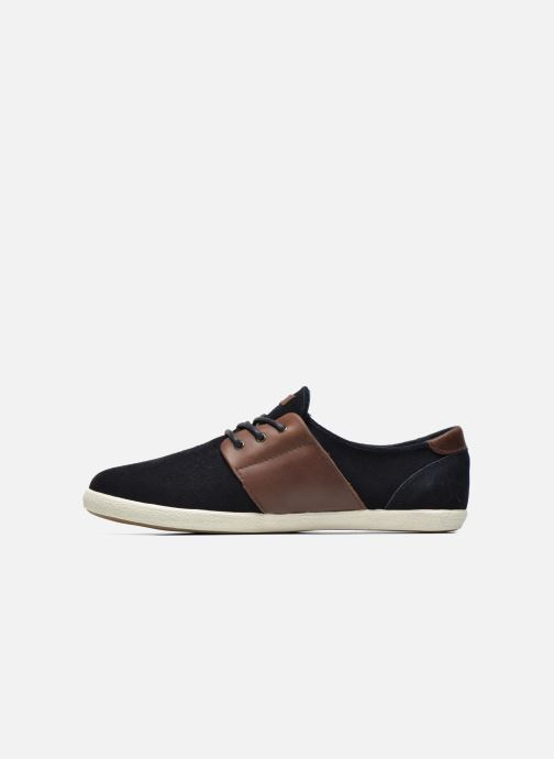 Trainers Faguo Cypress Suede Blue front view