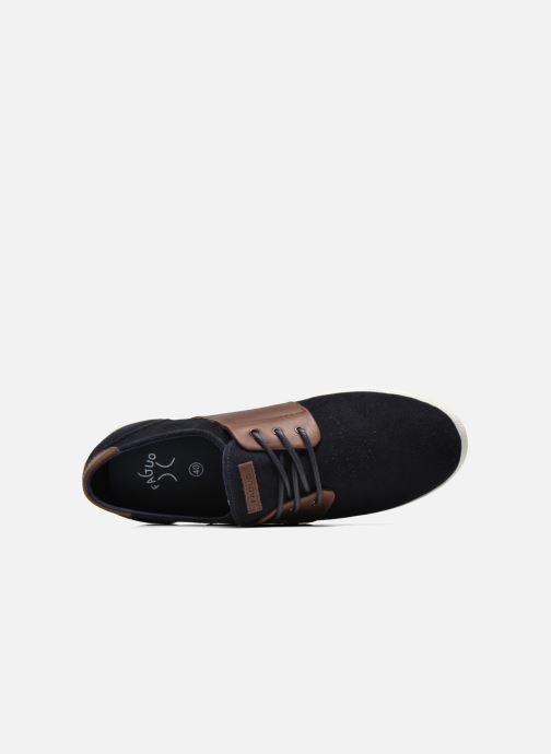 Sneaker Faguo Cypress Suede blau ansicht von links