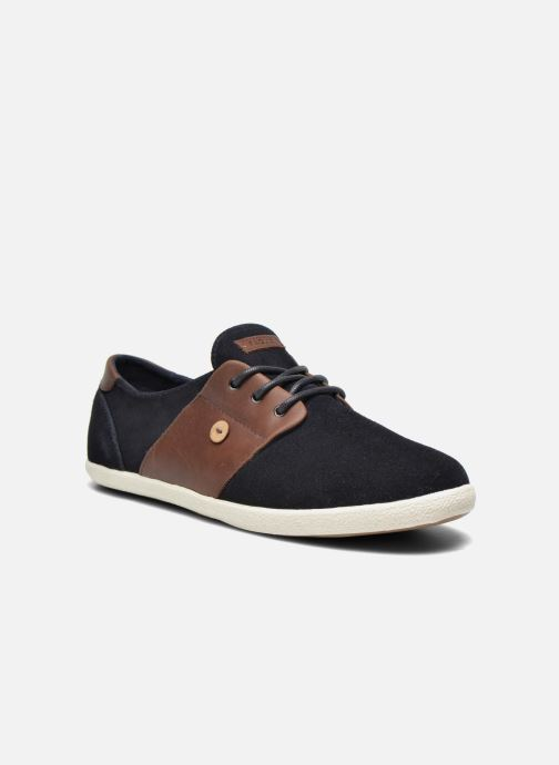 Trainers Faguo Cypress Suede Blue detailed view/ Pair view