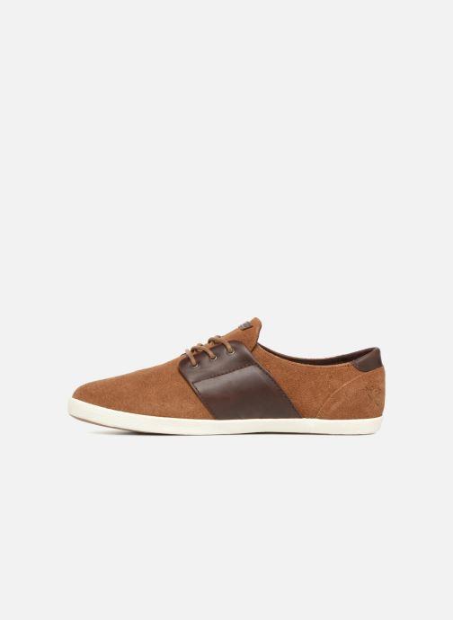 Sneakers Faguo Cypress Suede Marrone immagine frontale