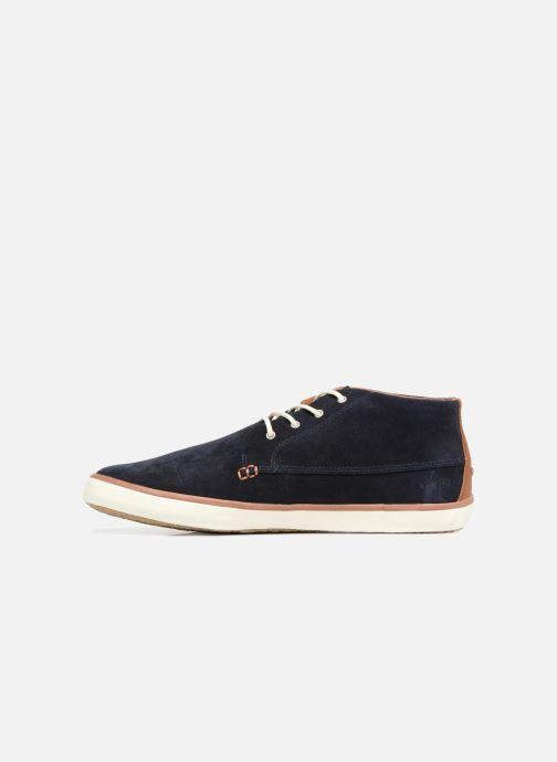 Sneakers Faguo Wattle Suede Blauw voorkant