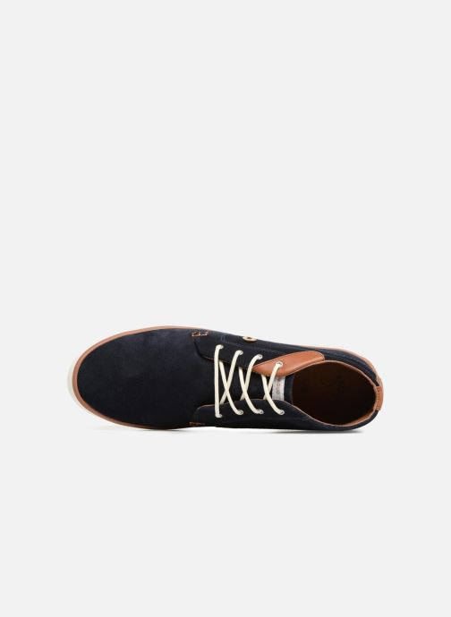 Sneakers Faguo Wattle Suede Blauw links